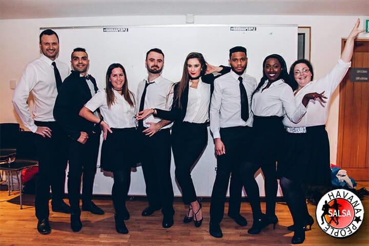 Newport Salsa Show Team 2019