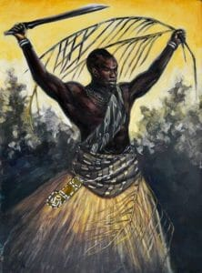 Ogun warrior god cuban salsal and saints